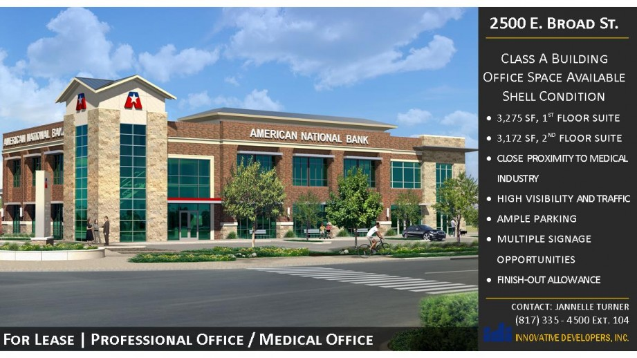 Optimal professional / medical office space with close proximity to medical industry